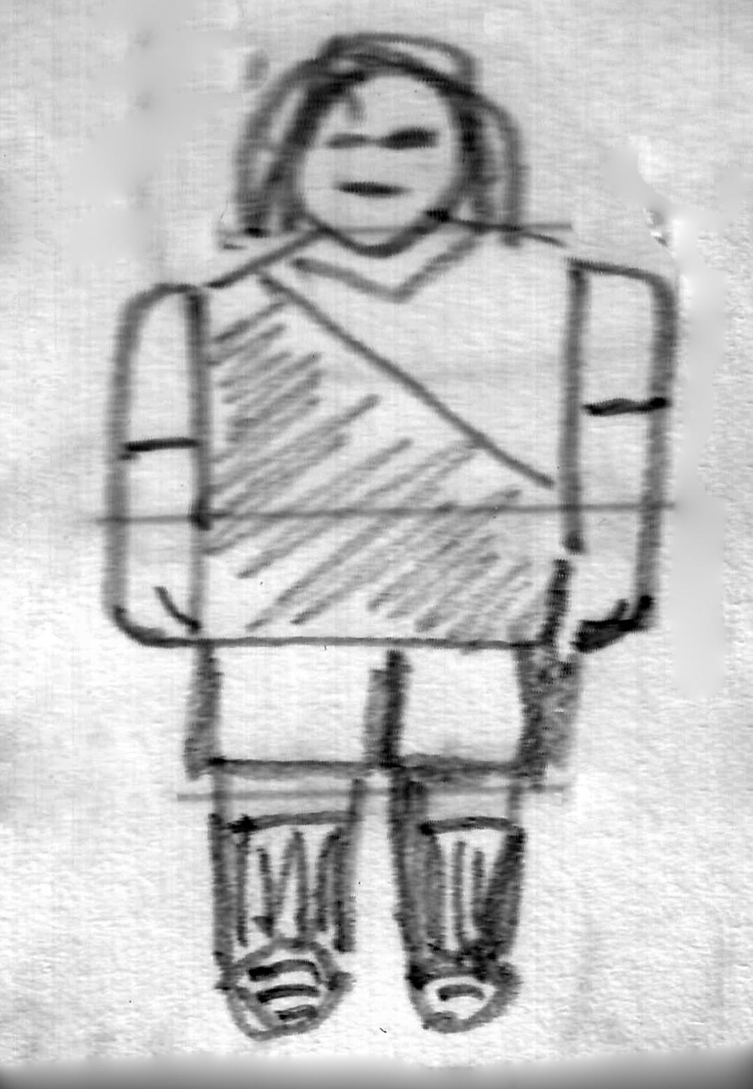 Gaston Cortes drawing