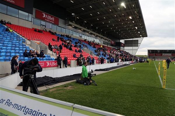 DaveAitch inside stadium