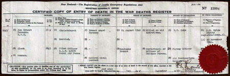 Parsons 10 Death Cert