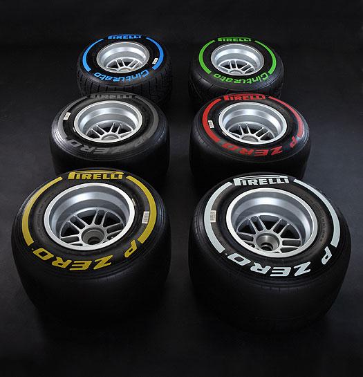 Pirelli 2012 Tyres