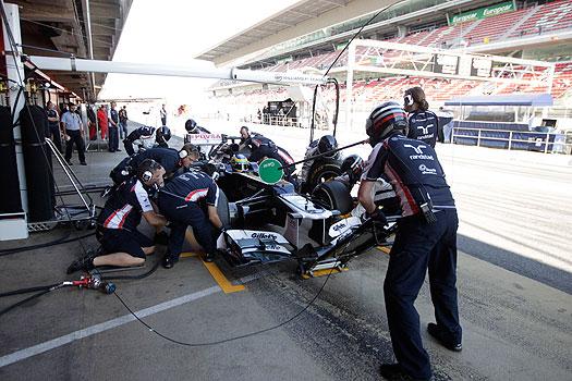 Senna pitstop