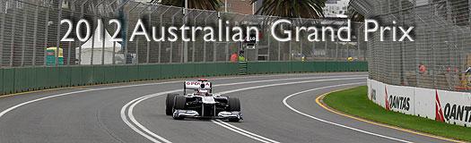 2012 Australian GP Preview