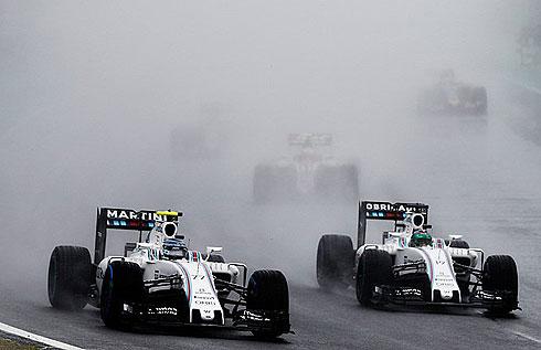 Bottas & Massa