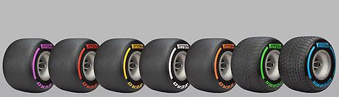 Pirelli 2017 F1 Tyres