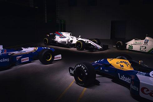 Williams Martini FW40