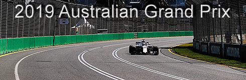 2019 Australian GP Preview
