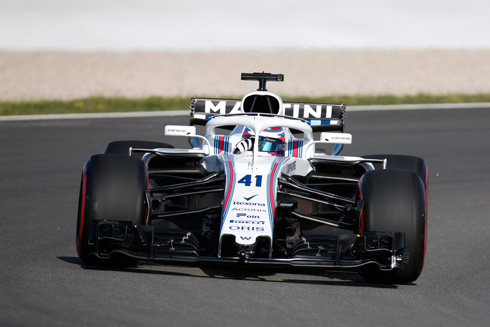 williams f1 pirelli may 2018 barcelona test review. Black Bedroom Furniture Sets. Home Design Ideas