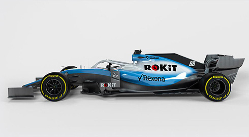 FW42 Side View
