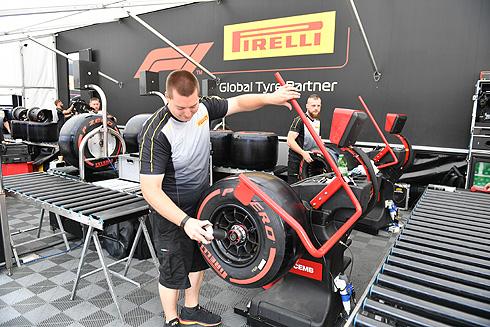 Pirelli Tyre Fitting
