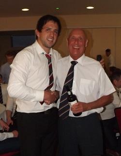 Firts Award Tony Wilson
