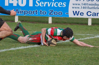 BB Hilditch try
