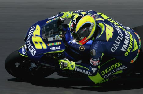 Valentino Rossi 2005 - photo © Getty Images