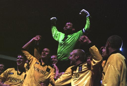 Celebrations at Fulham