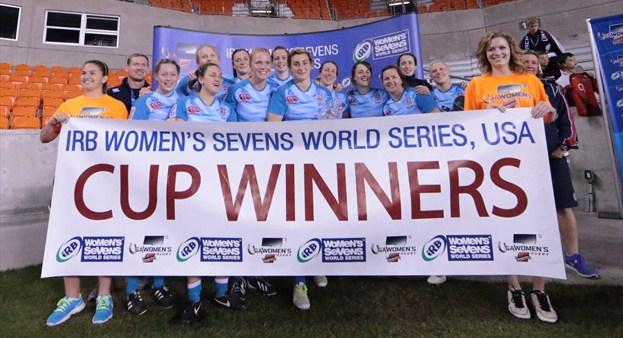 Eng Women 7s Win in USA