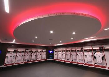Twickenham New Changing Rooms