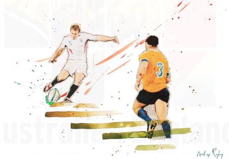 Art of rugby Wilkinson