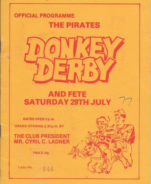 2 Donkey Derby