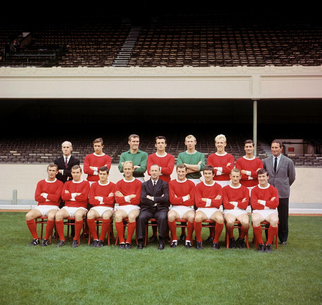 Arsenal Fc at Highbury, London.Left to right, back row: B Owen, John Radford, Jim Furnell, Alan Sk