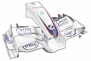 Draw Monaco GP front wing