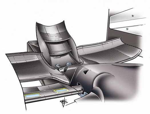 Draw Monaco GP stinger wing