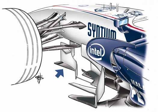 Draw Monaco GP turning vane
