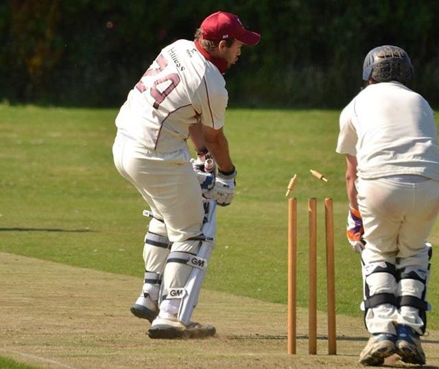 15 Burgh (2) - Adam bowled