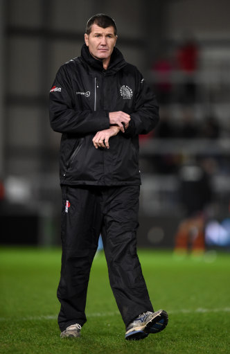 Exeter Chiefs head coach Rob Baxter before the European Champions Cup, pool two match at Sandy Park,