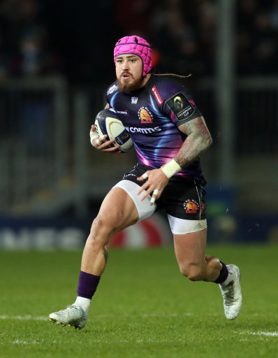 Exeter Chiefs Jack Nowell during the European Champions Cup, Pool Five match at Sandy park, Exeter.