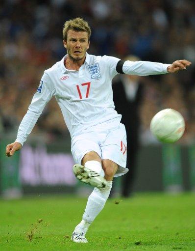 David Beckham, England