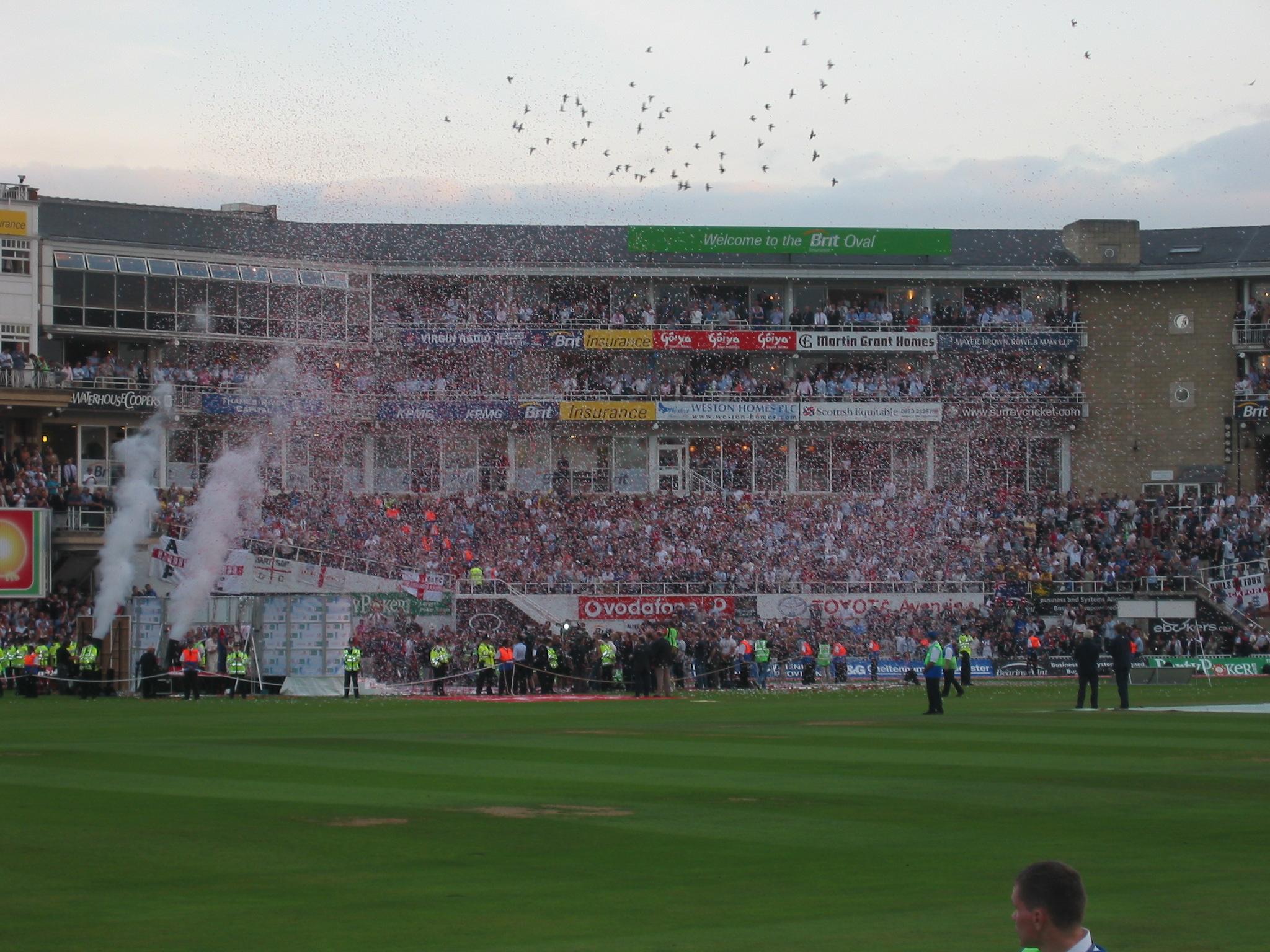 Oval Celebrations