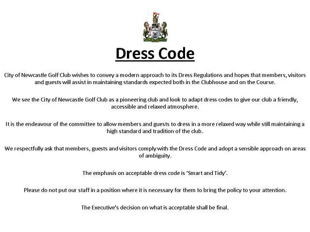 Dress Code 2014 -1