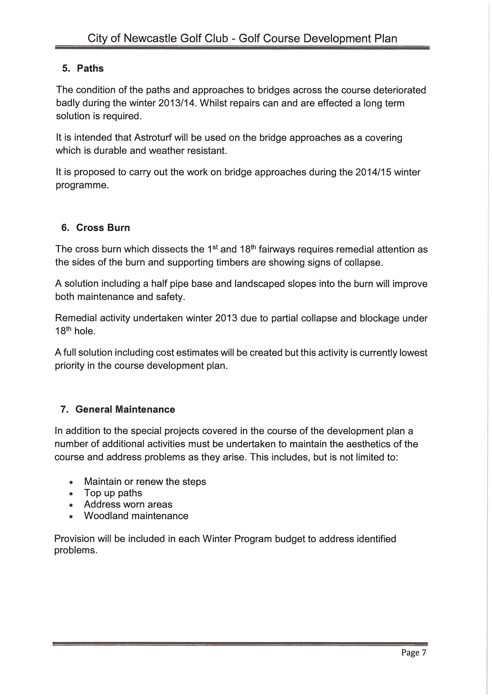 course development plan 7