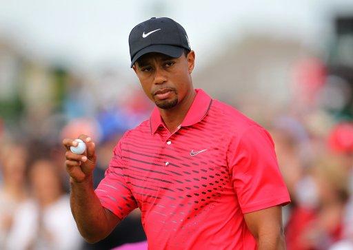USAs Tiger Woods