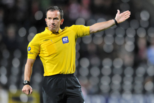 Keith Stroud, match referee